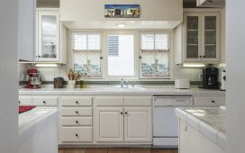 Beth Ayer Design vintage kitchen and art