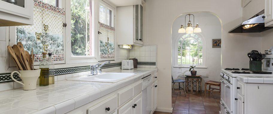 Beth Ayer Design modern kitchen with vingate history