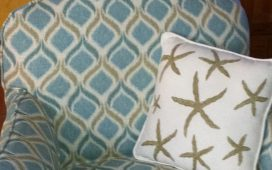 Beth Ayer Design uses reupholstery to create new