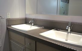 Beth Ayer Design gives master bath style and warmth