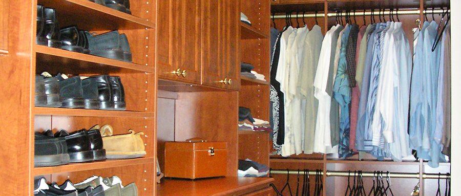 Beth Ayer Design closet organizes life