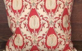 Vintage English Hand Printed Linen